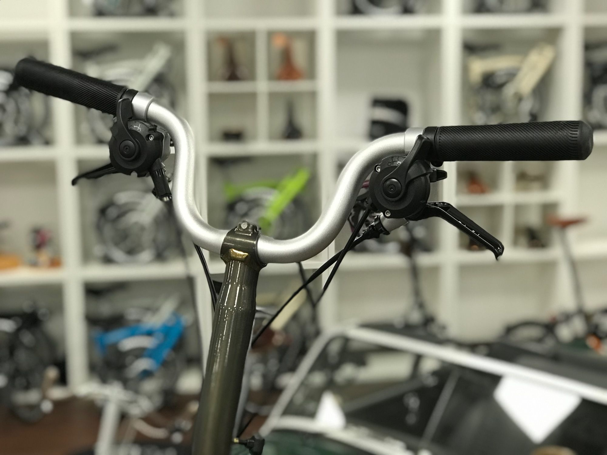 Brompton H6LD Raw Lacquer