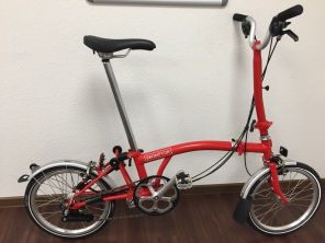 Brompton H6L New red
