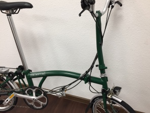 Brompton H6LD Racing Green
