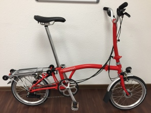 Brompton H6RD New Red