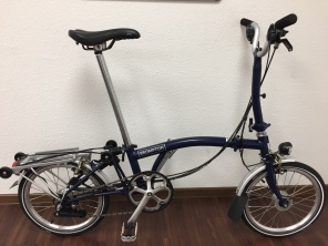Brompton H6RD 2017 Tempest Blue