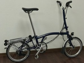 Brompton H6RD Tempest Blue 2019