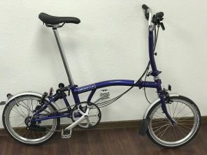 Brompton M6L Purple Metallic 2019