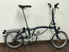 Brompton M6RD Tempest Blue