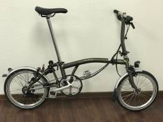 Brompton S6LD Raw Lacquer 2019