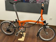Brompton S6LX Superlight TITAN orange