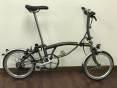 Brompton S6LD Raw Lacquer