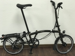 Brompton Black Edition H6RD Black Lacquer