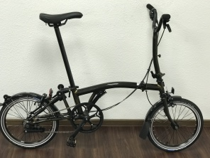 Brompton Black Edition H6L Raw Lacquer