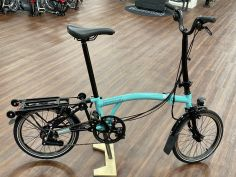 Brompton Black Edition M6RD Turkish Green glossy 2020