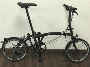 Brompton Black Edition S6L Raw Lacquer