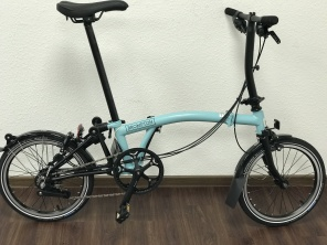 Brompton Black Edition S6L Turkish Green