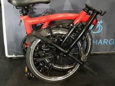 Brompton Black Edition H6LD Rot glossy 2020