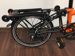 Brompton Black Edition S6RD Orange
