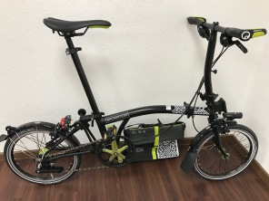 Brompton NYC New York Black Edition S6L 2017