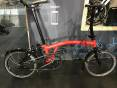 Brompton Black Edition S2L Rocket Red 2020