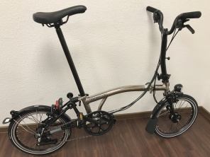 Brompton Nickel Edition M6LD 2017