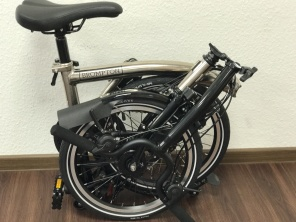 Brompton M6RD Nickel Edition