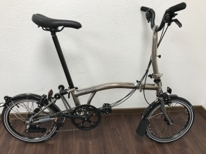 Brompton Nickel Edition M6LX 2017 Titan