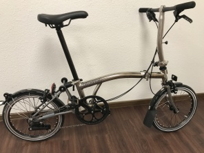 Brompton Nickel Edition S2LX 2017