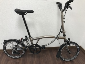 Brompton Nickel Edition H6LX 2017 Titan