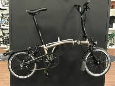 Brompton Nickel Edition M6RD