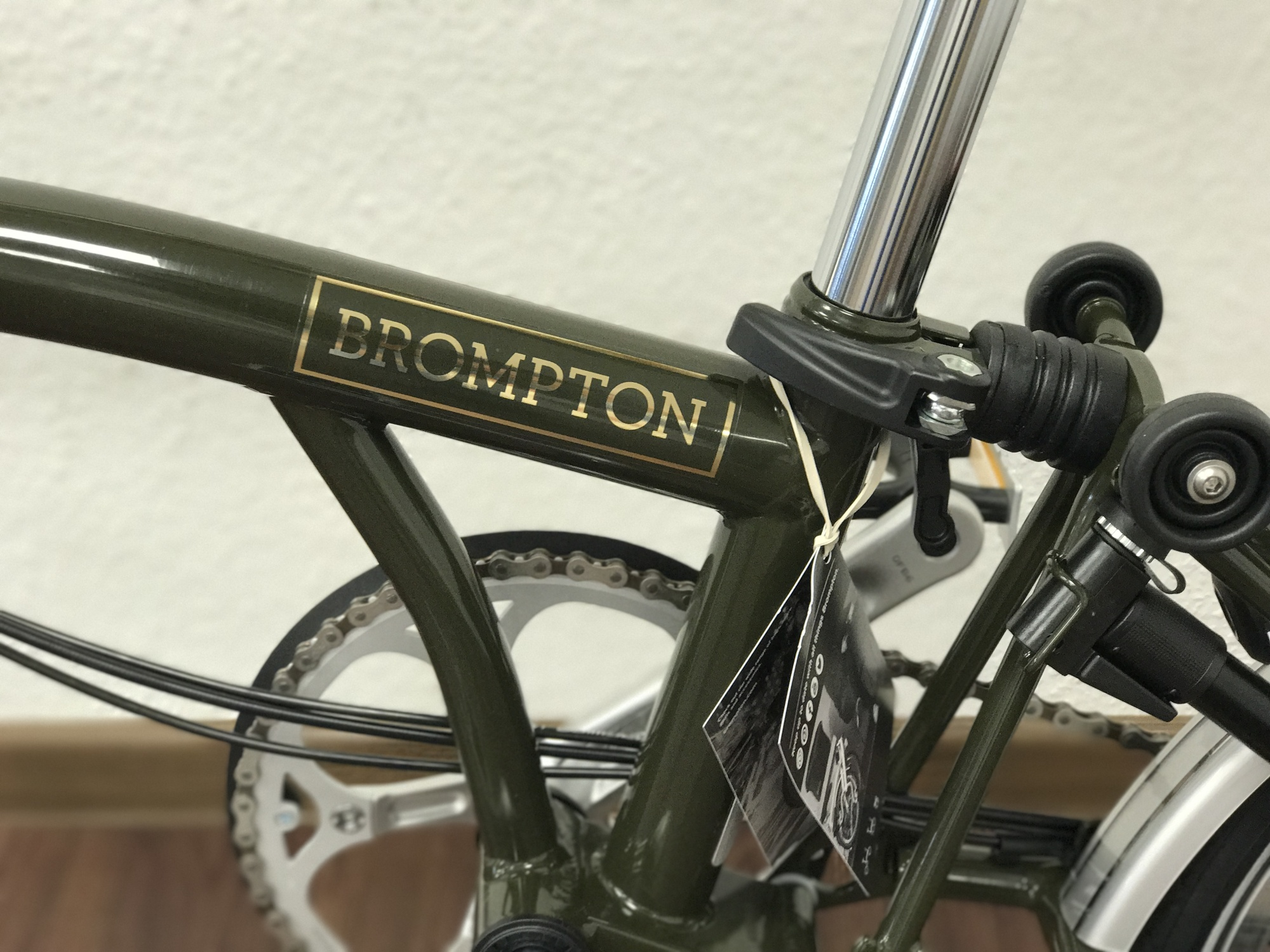 Brompton M6L Barbour Edition