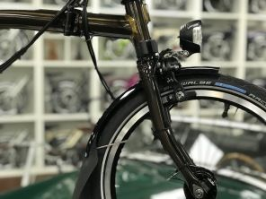 Brompton Black Edition M6LD Black Lacquer