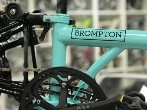 Brompton Black Edition M6LD Turkish Green glossy 2019