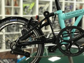 Brompton Black Edition H6LD Turkish Green glossy 2019