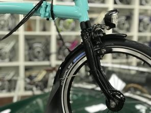 Brompton Black Edition M6RD Turkish Green glossy 2019