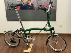 Brompton H6LX Superlight TITAN Racing Green