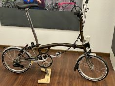 Brompton M6LX Superlight TITAN Black Lacquer