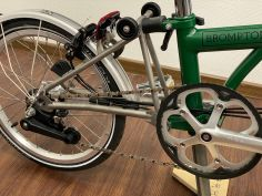 Brompton S2LX Superlight TITAN Racing Green 2021