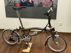 Brompton S6LX Superlight TITAN Black Lacquer 2021