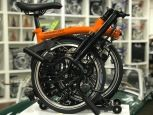 Brompton Black Edition H6RD Orange glossy 2019