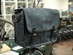 Brompton Game Bag Harris Tweed