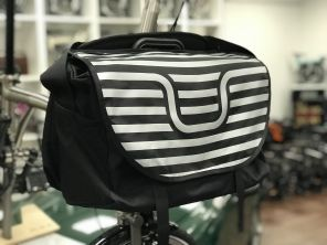 Brompton S Bag Black&White