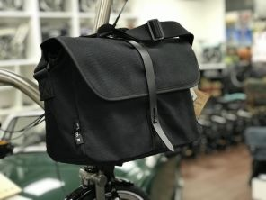 Brompton Shoulder Bag schwarz
