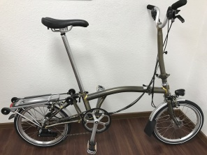 Brompton M6RD SON Raw Laquer