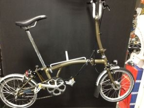 Brompton H6LD Raw Lacquer 2017