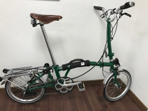 Brompton H6RD SON 2017 Racing Green