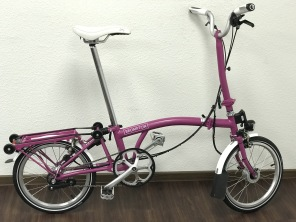 Brompton M3RD Berry Crush Edition