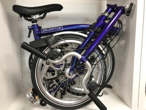 Brompton H6RD Purple Metallic