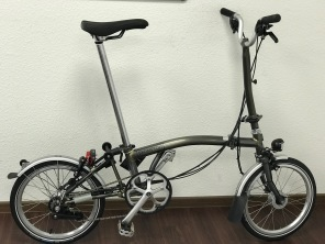 Brompton M6LD Raw Lacquer