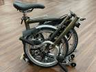 Brompton M6RD Raw Lacquer