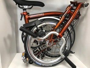 Brompton M6L Flame Lacquer 2019