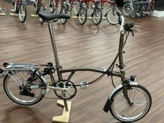 Brompton H6RD Raw Lacquer