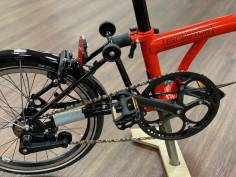 Brompton Black Edition H2L Rocket red 2020