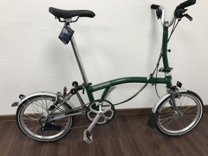 Brompton M6LX Titan Racing Green